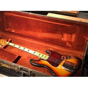 Fender Jazz Bass 1972 Con Estuche Underground
