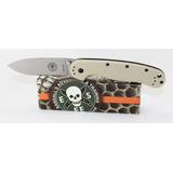 Canivete Esee Avispa Brk1301dt, Aço D2, Desert Tan, Original