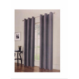 Cortina Eclipse Nottingham Grommet Thermaback Panel Gris