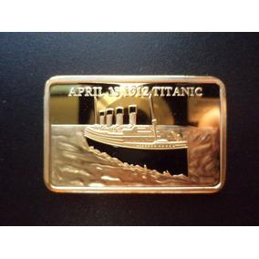 Medalha Em Memória À Tragédia Do Titanic 15 De Abril De 1912