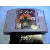 Hexen P Nintendo 64 N64 Ultra. By Gt I S. Game Fenix 195