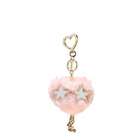 Llavero Victorias Secret Pompon Rosa Gafas Mujer Accesorio