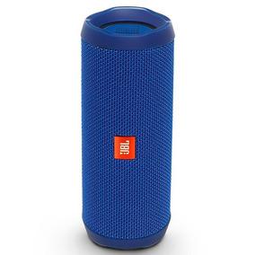Caixa De Som Jbl Flip 4 Azul Bluetooth,bateria Recarregável