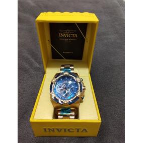 ae19327a3f4 Relógio Invicta Bolt Model No. 25516 Original B. Ouro 18k