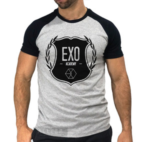 Camisetas Raglan Exo Kpop Xiumin Baekhyun Chanyeol Sehun Bts 69673b16ff8e5
