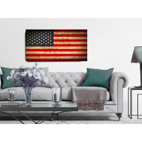 Quadro Decorativo Bandeira Estados Unidos Eua 335f410a5cc