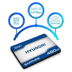 Hd Ssd Hyundai 480gb 10x Mais Rapido 500mbs Lacrado Original