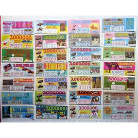 Loteria Mineira - Lote 630 Bilhetes Diferentes - 1987/2001