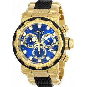 c1bb55d8211 Relógio Invicta Specialty 14878 Banhado À Ouro 18k Esportivo ...