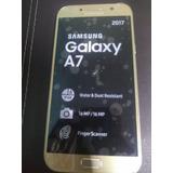 Celular Samsung Galaxy A7 2017 Dorado