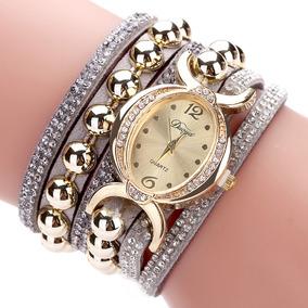 b5da00ba22e Pequeno Relogio Feminino Oval Prata - Relógios De Pulso no Mercado ...