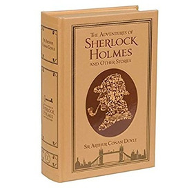 Livro As Aventuras De Sherlock Holmes Em Inglês - Ed. Luxo