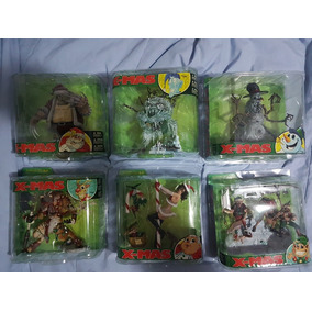 Coleção Action Figure Spawn Mcfarlane Twisted X-mas - 6 Pcs