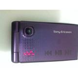 Celular Antigo Sony Ericsson W380 Peças Ou Colecionador