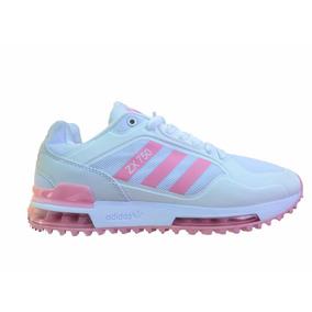 on sale 4d559 0e45a Tenis Promoción adidas Zx750 Blanco Con Rosa
