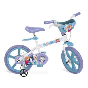 Bicicleta Aro 14 - Disney - Frozen - Bandeirante