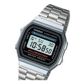 d95a7dec1ae Casio Vintage A158w Dourado Masculino - Relógio Masculino no Mercado ...