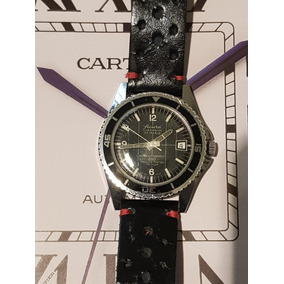 5f57d4f6ca8 Usado - São Paulo · Relógio Sicura By Breitling Submarine 200 Corda 23rub.  Couro