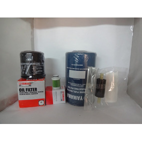 Kit Filtro Oleo+ Combustível Motor Popa Yamaha 4t F-40/115hp