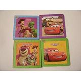 Disney Cars & Toy Story 4board Book Set ~ Juguetes Al Resca
