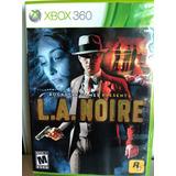 L. A. Noire Xbox 360 Seminuevo