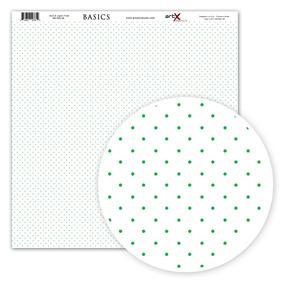 Pacote Folha Scrapbook Verde Bolinha - Acessórios para Scrapbooks ... 2916dba7efe45