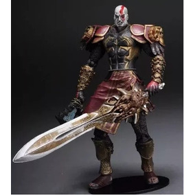 Boneco Action Figure God Of War Kratos Armadura Neca