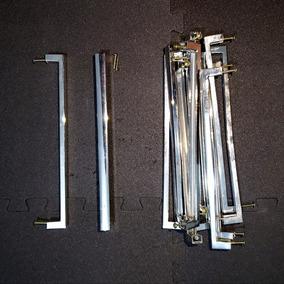 Kit 12 Puxadores Modernos Minimalistas 270mm + Parafusos