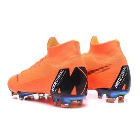 Nike Mercurial Superfly 360 Naranja - Tacos y Tenis de Fútbol en ... 57e4fcb9af187