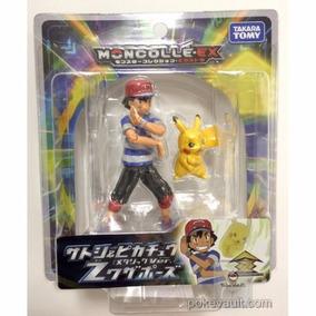 Pokémon Ash Ketchum E Pikachu(metalizado) Takara Tomy