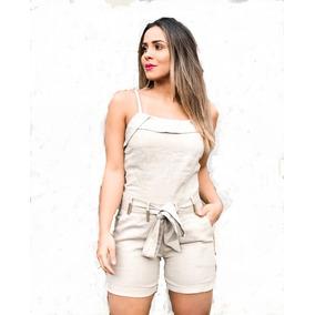 Conjunto Feminina Em Linho 100 % Frete Grates
