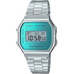 ad4d7e35d22 Relógio Casio Vintage Azul - Relógios no Mercado Livre Brasil