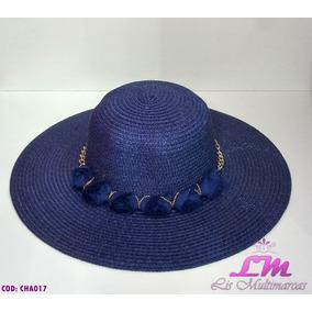 Chapéus Floppy para Feminino Azul marinho no Mercado Livre Brasil 56a41e15ffe