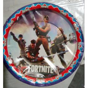 Fortnite Epic Battle Royale Paq 10 Platos Pasteleros Games