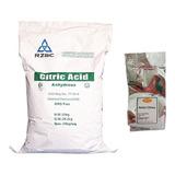 Acido Citrico 500 Gr Grado Alimenticio