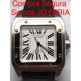Reloj Santos 100 Cartier 100m330ft Clon - Relojes en Mercado Libre ... c709ef46f7557