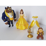 Play Set La Bella Y La Bestia - Original Disney Sin Caja