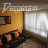 Promocion Persianas Verticales Zebra Roller Screen Blackout