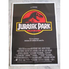 Jurassic Park Steven Spielberg 140x100cm Cartaz Original