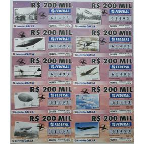Bilhete Da Loteria Federal De 2006 : [história Da Aviação]