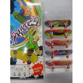 Conjunto Com 5 Mini Skates De Dedo