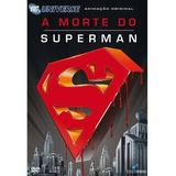 Dvd A Morte Do Superman+livro Os Últimos Dias D Krypton Novo