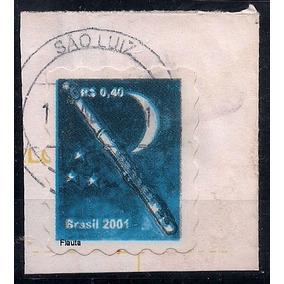 Brasil - Falso Postal Circulado Do Regular R-807 - Raro !!