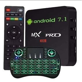 Smart Tv Box Pro 4k 2gb Ram 16gb 2019 +teclado+ Frete Grátis
