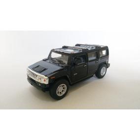 Raro Miniatura Hummer H2 Suv Metal 1:32 Abre Portas