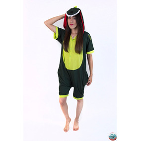 Kigurumi Dinosaurio Short Pijamas Summer Para Adultos Kawaii