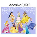 Adesivo Papel De Parede Decorativo Princesas -frete Grátis