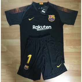 Formidable Uniforme Barcelona Portero 2019 Niño Ter Stegen e771a8c14c187