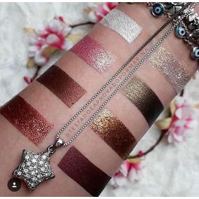 5 Pigmento Sombra Glitter Mahav Kit Oferta