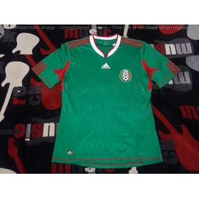 Jersey Mexico Mundial Local 2010 Climacool Original Talla M 5f97916e2a301
